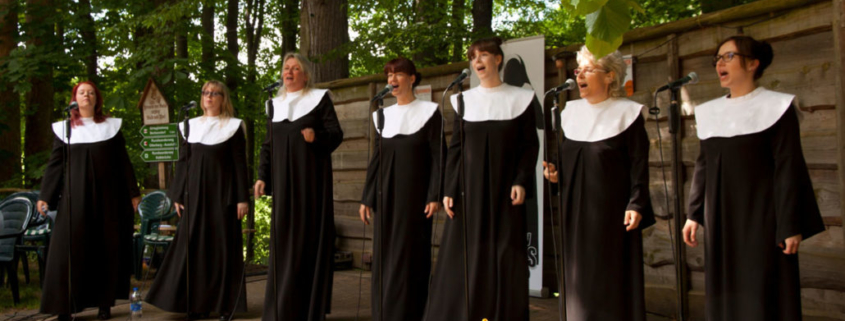 Waldgottesdienst Striegistal 2017, Happy Sisters