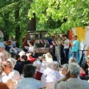 Waldgottesdienst Striegistal 2018, Brassband Großwaltersdorf