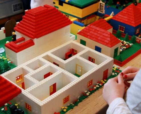 Zeit mit Lego in der LKG Hainichen 2019